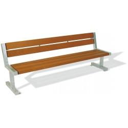 Kovová lavička Sunny