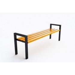 Kovová lavička Mirna