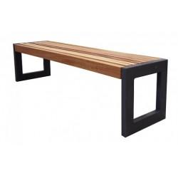 Kovová lavička Taka