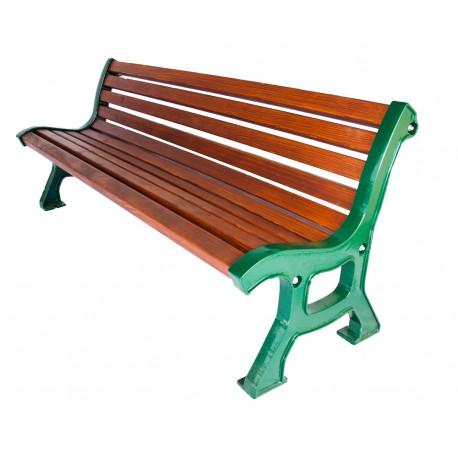 Litinová lavička Itálie