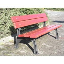 Litinová lavička Rustika