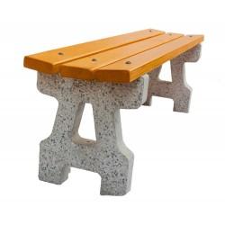Betonová lavička Klasik