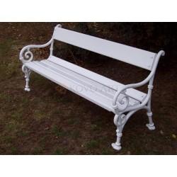 Litinová lavička Schonbrunn 1
