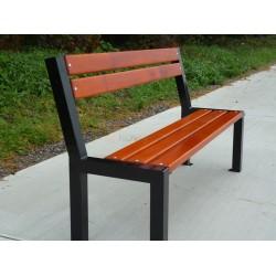 Kovová lavička Zlín 1