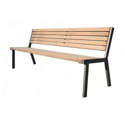 Kovová lavička Bolzano