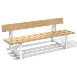 Kovová lavička Cool