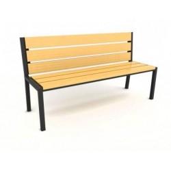 Kovová lavička Terax
