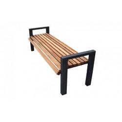 Kovová lavička Manhaim