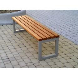 Kovová lavička Mono