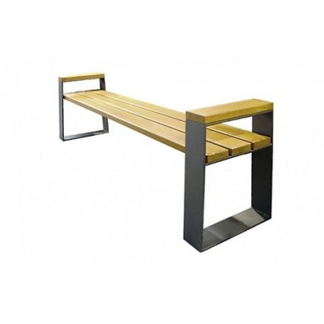 Kovová lavička Setra