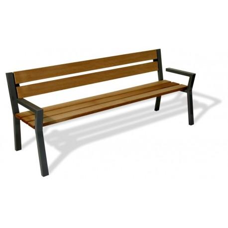 Kovová lavička Karim
