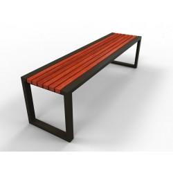 Kovová lavička Dakote
