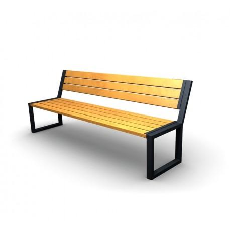 Kovová lavička Agora
