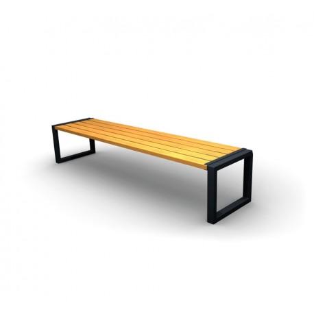 Kovová lavička Flip