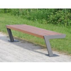 Kovová lavička Dynamic