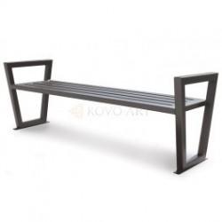 Ocelové lavičky typ Nevada