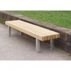 Designová lavička One - model lavičky bez opěradla