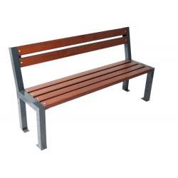 Kovová lavička Trend