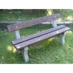 Betonová lavička Standart